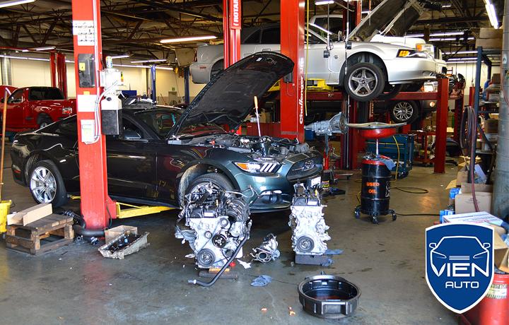 4 garage sua o to Ford uy tin (2)