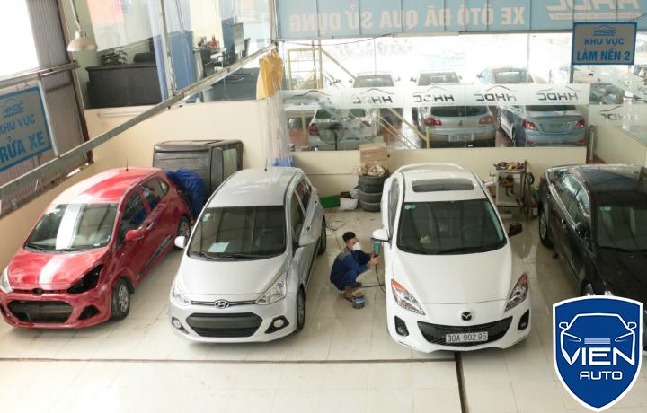 Sửa ô tô Ford FIESTA